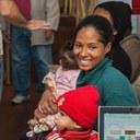 15 toneladas de alimentos são entregues aos assistidos do GEB na Brasilândia