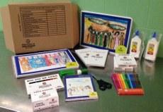 Creche do GEB recebe material escolar da Prefeitura de São Paulo