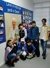 Crianças da EEIJ visitam o Memorial Spartaco Ghilardi