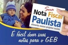 Doe seus créditos da Nota Fiscal Paulista para o GEB