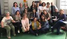 Integração de voluntários da Fluidoterapia