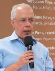 Palestra do jornalista e escritor Wilson Garcia no GEB