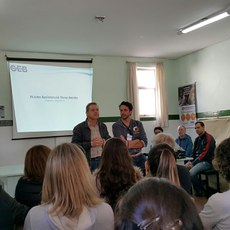Unidade da Brasilândia recebe alunos do Curso Básico de Espiritismo