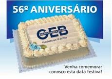 56 anos de mais luz!